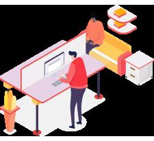 Shared Workspace / Dedicated Desk Option